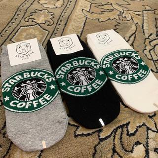 スターバックス 靴下 韓国 3足セット