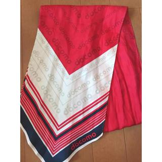 エヌティティドコモ(NTTdocomo)のドコモ スカーフ(バンダナ/スカーフ)