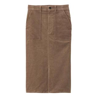 GU - GU ベッチンタイトスカート S ブラウン