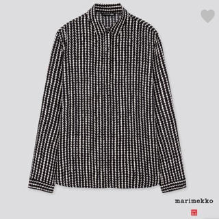 マリメッコ(marimekko)のマリメッコ×ユニクロコラボ 長袖シャツ Sサイズ(シャツ/ブラウス(長袖/七分))