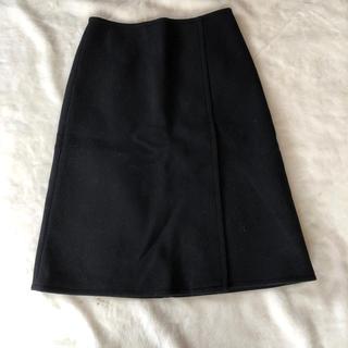 フレームワーク(FRAMeWORK)のフレームワーク ウール スカート 40(ひざ丈スカート)