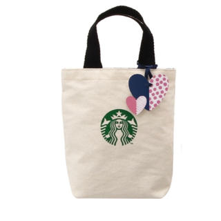 Starbucks Coffee - スタバ バレンタイン コットンバッグ トート 限定