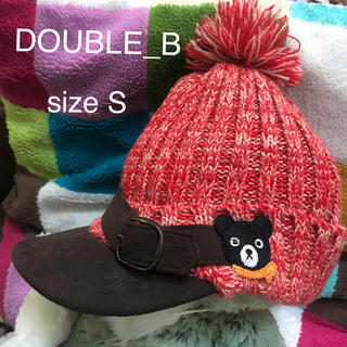 DOUBLE.B - DOUBLE_B ダブルB ダブルビ  可愛いすぎるニット帽子♡