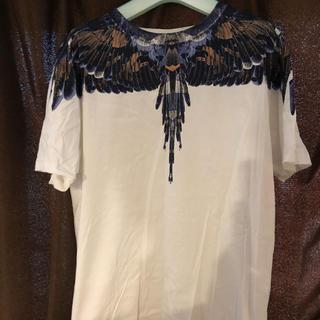 マルセロブロン(MARCELO BURLON)のmarcelo burlon 羽プリント(Tシャツ/カットソー(半袖/袖なし))