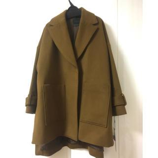 【未使用美品】シニカル コート キャメル