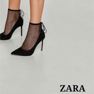 ZARA - ZARA パンプス メッシュパンプス ソックスブーツ