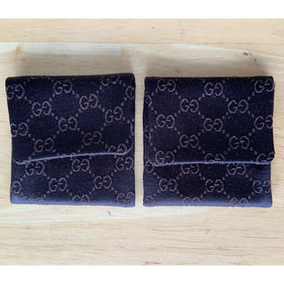 Gucci - GUCCI(グッチ)ジュエリー ポーチ(保存袋)2個セット