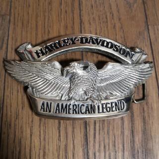 ハーレーダビッドソン(Harley Davidson)のバックル HARLEY DAVIDSON(ベルト)