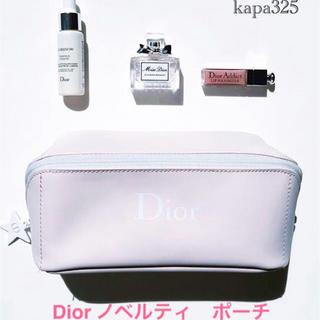 ディオール(Dior)の新品 dior ポーチ ピンク ノベルティ(ポーチ)