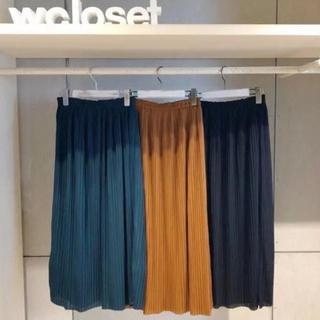 ダブルクローゼット(w closet)のwcloset  プリーツスカート(ロングスカート)