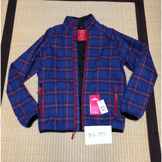 バートン(BURTON)のIDIOM BURTON TARTANPLAID BLUE jacket(マウンテンパーカー)
