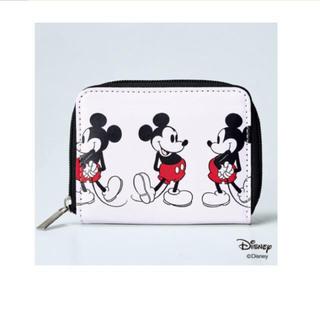 SHIPS - 新品 未使用 シップス ミッキーマウス 二つ折り財布 ♪