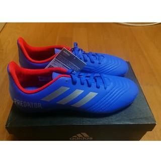 adidas - adidas サッカースパイク 24.5cm ジュニア HG ブルー 青