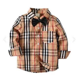 ZARA KIDS - タータンチェックシャツ