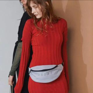 アリシアスタン(ALEXIA STAM)のjuemi Layered Box Knit Dress(ロングワンピース/マキシワンピース)