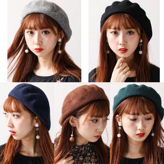 WEGO - 【WEGO】バスクベレー帽