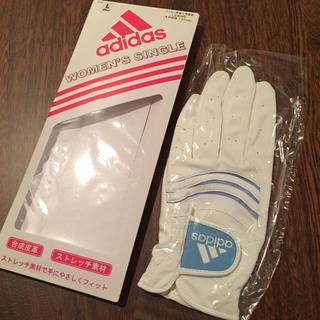 アディダス(adidas)の♪アディダス♪ ゴルフグローブ(スポーツ)