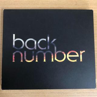 バックナンバー(BACK NUMBER)のblues(初回限定盤)backnumber(ポップス/ロック(邦楽))