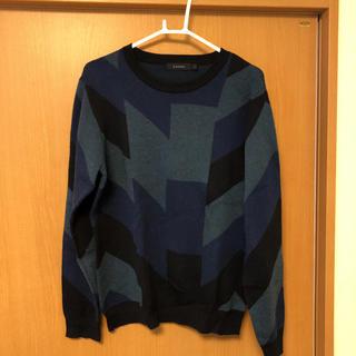 レイジブルー(RAGEBLUE)のRAGEBLUE 柄セーター(ニット/セーター)