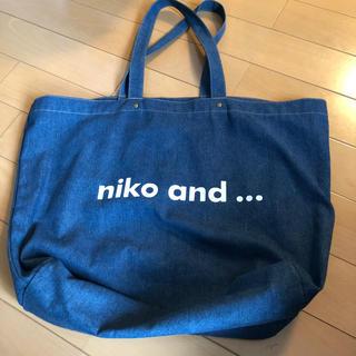 niko and... - niko and… デニムトートバッグ