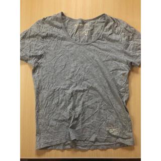 アヴィレックス(AVIREX)のAVIREX グレーTシャツ(Tシャツ/カットソー(半袖/袖なし))