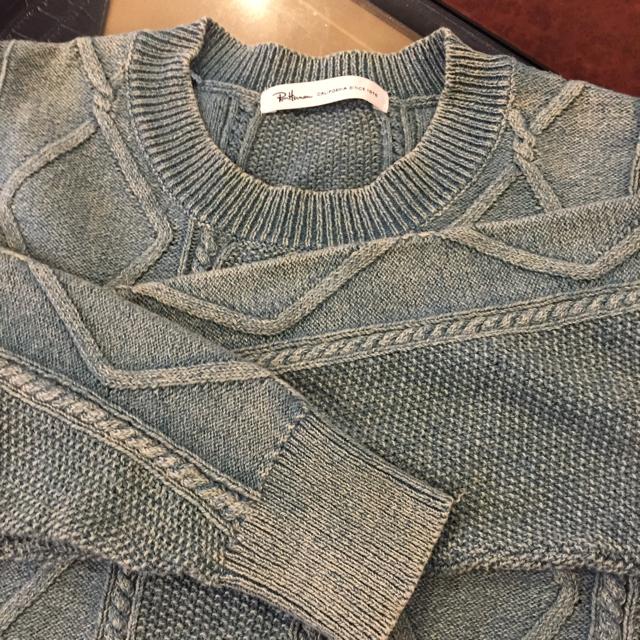 Ron Herman(ロンハーマン)のロンハーマン Ron Herman ビンテージ風 トップス セーター M メンズのトップス(ニット/セーター)の商品写真