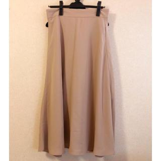 GU - フレアミディスカート 大きいサイズ XL