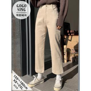 ゴゴシング(GOGOSING)のThompsonコーデュロイストレートパンツ(カジュアルパンツ)