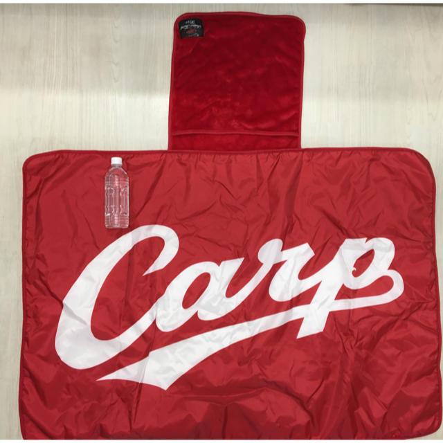 広島東洋カープ(ヒロシマトウヨウカープ)のCARP(カープ) ブランケット スポーツ/アウトドアの野球(応援グッズ)の商品写真