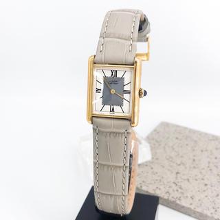 Cartier - 【仕上済/ベルト二色付】カルティエ タンク ゴールド レディース 腕時計
