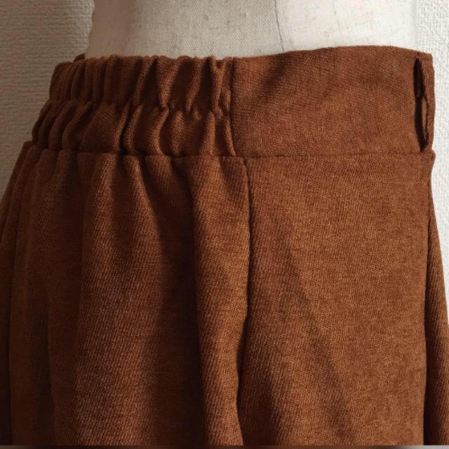fifth(フィフス)の新品タグ付♪ fifth フレア キャメル 後ろゴム ロングフレアースカート レディースのスカート(ロングスカート)の商品写真