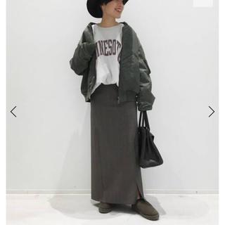 L'Appartement DEUXIEME CLASSE - アパルトモン チェックスリット スカート