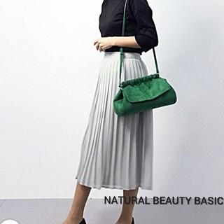 ナチュラルビューティーベーシック(NATURAL BEAUTY BASIC)のNATURAL BEAUTY BASIC・シフォンプリーツスカート(ロングスカート)