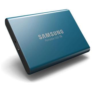 サムスン(SAMSUNG)のSamsung 外付けSSD T5 500GB 最大転送速度540MB/秒 (PC周辺機器)