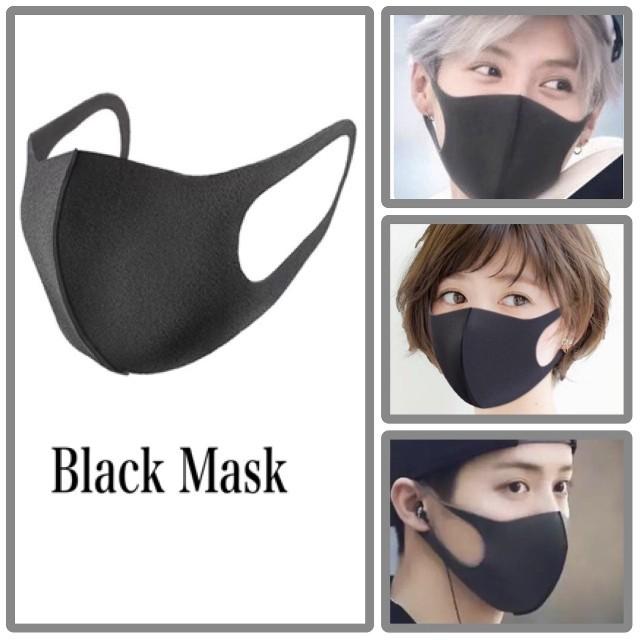 日本製pm25対応超立体マスク,ブラックマスク黒マスク小顔効果花粉カットの通販
