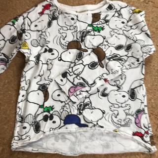 ザラキッズ(ZARA KIDS)のZara kids スヌーピーロンT 110cm(Tシャツ/カットソー)