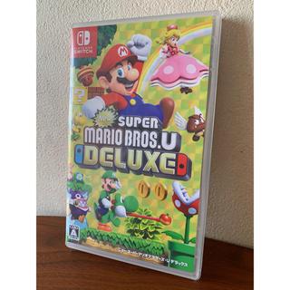 Nintendo Switch - ニュー・スーパーマリオブラザーズ・U デラックス switchソフト