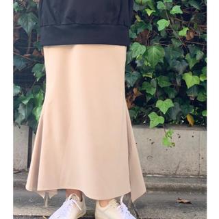 ハイク(HYKE)のBAUME ドローストリングスカート(ロングスカート)