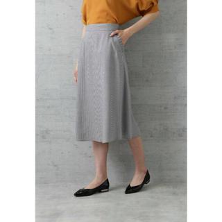 ナチュラルビューティーベーシック(NATURAL BEAUTY BASIC)のNATURAL BEAUTY BASIC クラブチェックスカート(ひざ丈スカート)