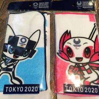さらにお値下げ❣️東京2020 オリンピック パラリンピック公式ハンカチ(その他)