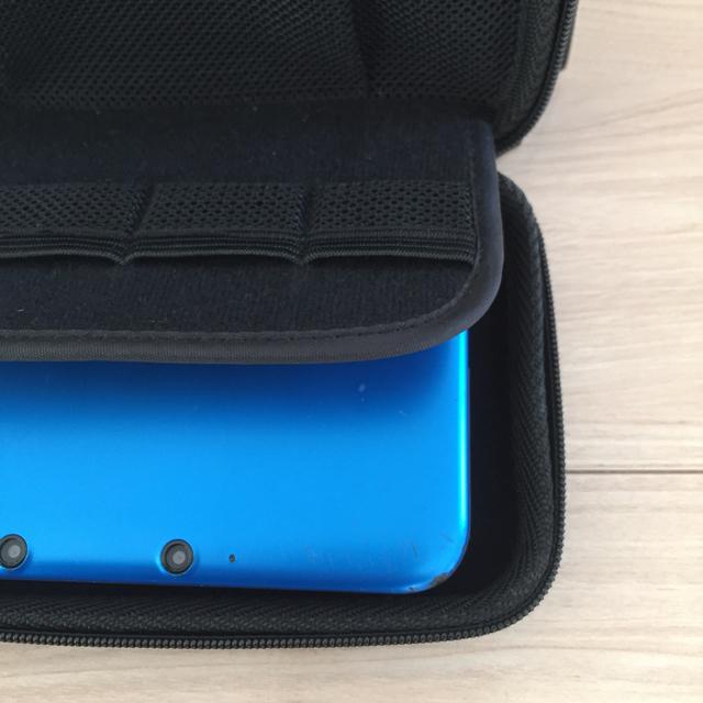 ニンテンドー3DS(ニンテンドー3DS)の任天堂 3DS&ゲームテックケース付き エンタメ/ホビーのゲームソフト/ゲーム機本体(携帯用ゲーム機本体)の商品写真