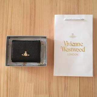 Vivienne Westwood - ヴィヴィアン 3つ折り財布 ブラック