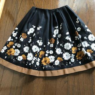 M'S GRACY - 膝丈花柄スカート