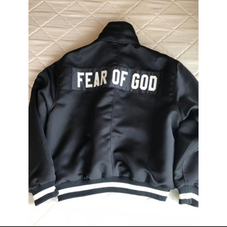 FEAR OF GOD - FEAR OF GOD 5thCollection サテン生地 コーチジャケット
