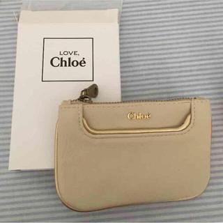 クロエ(Chloe)のクロエレザーコインケース ホワイト 新品 未使用(コインケース)