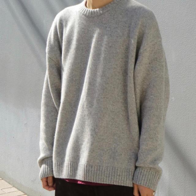 SUNSEA(サンシー)のYOKE SO JOHN 別注100%カシミヤオーバーサイズクルーネックニット メンズのトップス(ニット/セーター)の商品写真
