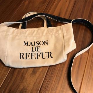 Maison de Reefur - メゾンドリーファー ロゴトート