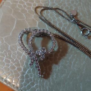 PonteVecchio - PT900上質ダイヤモンド2カラット ネックレス