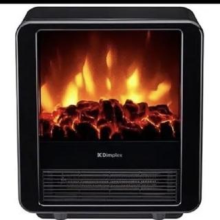 Dimplex 電気暖炉 ファンヒーター MiniCube ブラック(電気ヒーター)