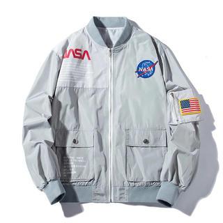 LHP - NASA MA-1 グレー Heron Preston nasa